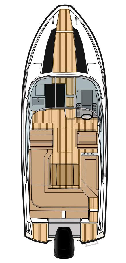 Схема катера Flipper 640 DC