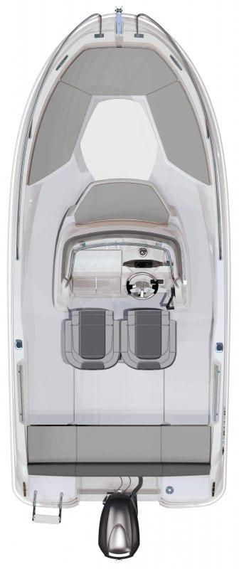 Схема катера Jeanneau Cap Camarat 5.5 CC