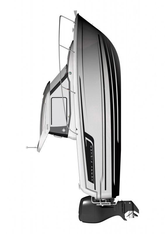 Схема катера Jeanneau Merry Fisher 605