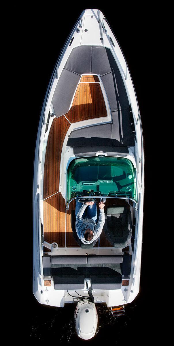 Схема катера Nordkapp Enduro 605