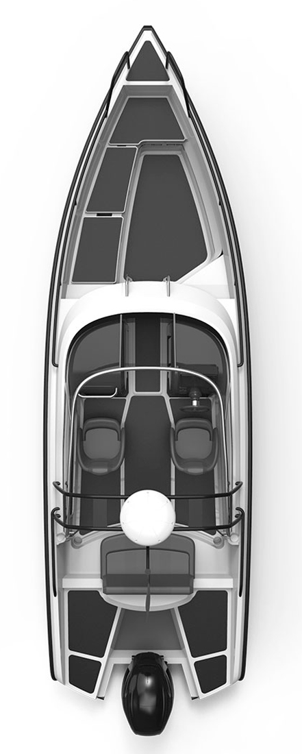 Схема катера Xo 240 RS