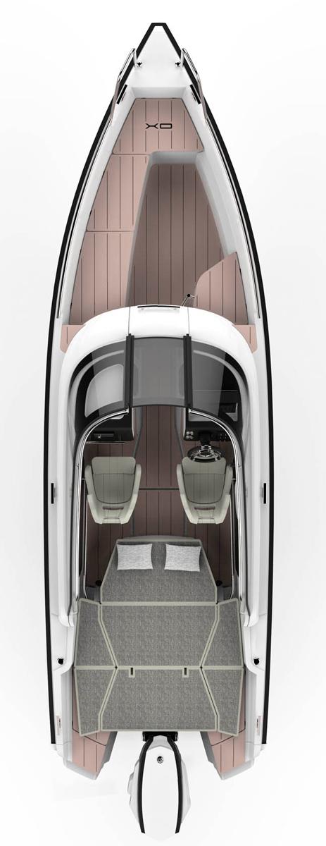 Схема катера Xo 250 RS
