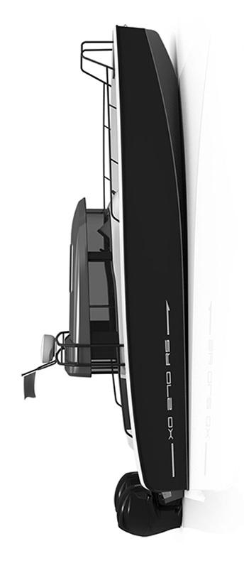 Схема катера Xo 270 RS Cabin OB