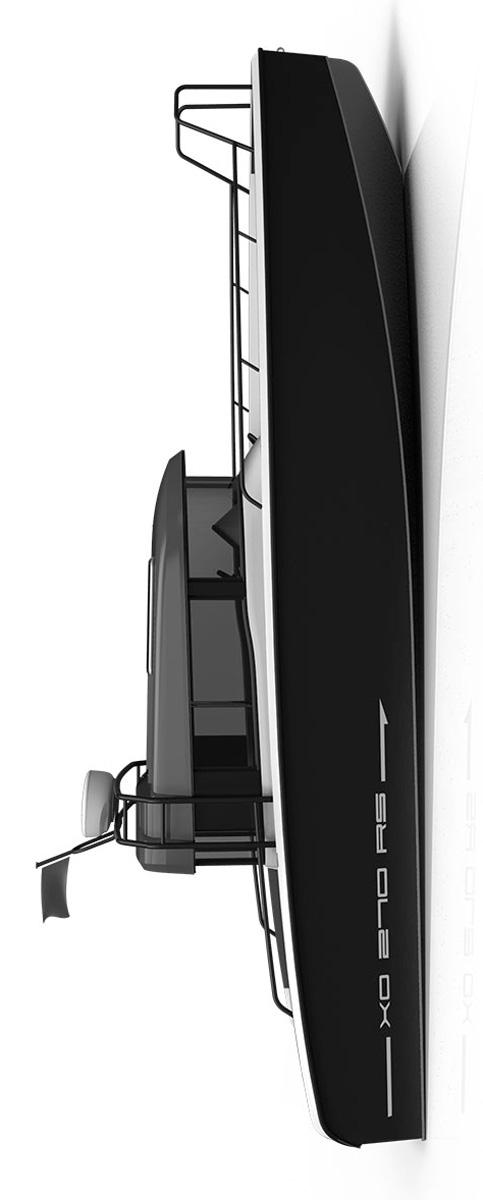 Схема катера Xo 270 RS Cabin