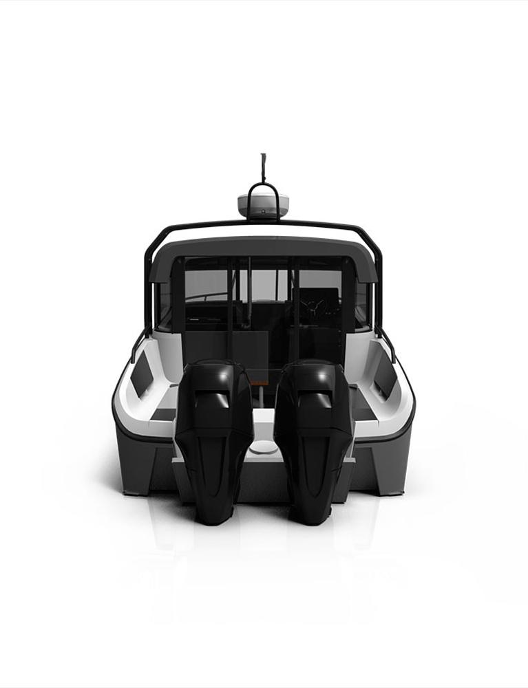 Схема катера Xo 270 RS Front Cabin OB