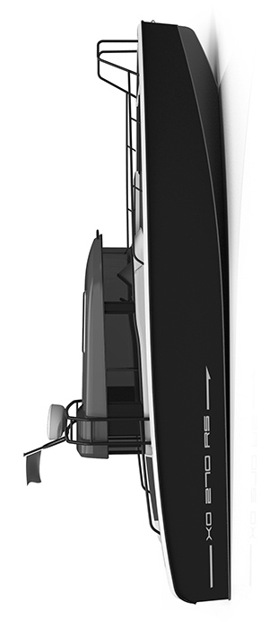 Схема катера Xo 270 RS Front Cabin