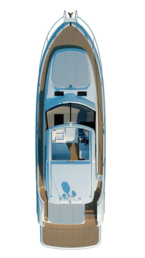 Схема яхты Bavaria Sport 450 HT