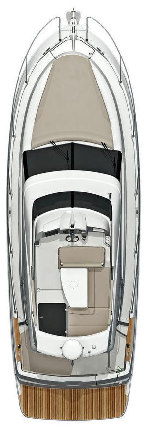 Схема яхты Beneteau Antares 30