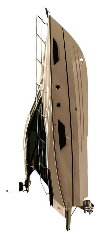 Схема катера Beneteau Gran Turismo 40