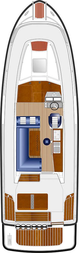 Схема яхты Sargo 33