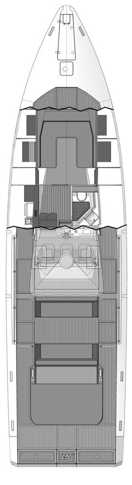 Схема яхты Windy SR52 Blackbird
