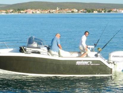 Катер Elan Fishingline 650 Cabin