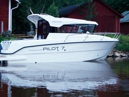 Катер Finnmaster Pilot 7 W