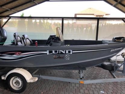 Продам катер бу Lund 1425