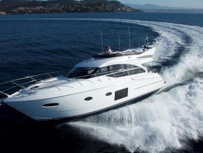 Яхта Princess 52