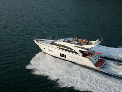 Яхта Princess 64