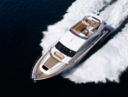 Яхта Princess 72 MY