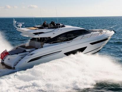 Яхта Princess S65