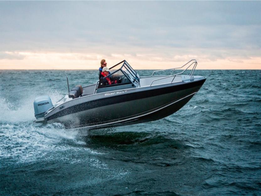Катер Silver Shark BR 580