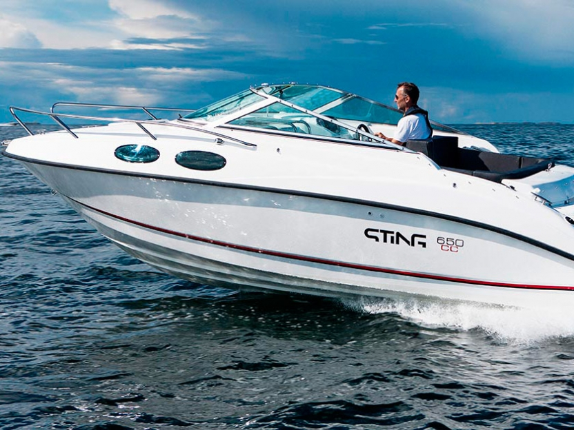 Катер Sting 650 CC