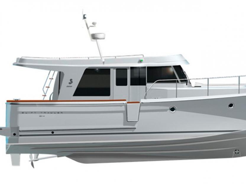 Яхта Beneteau Swift Trawler 34S