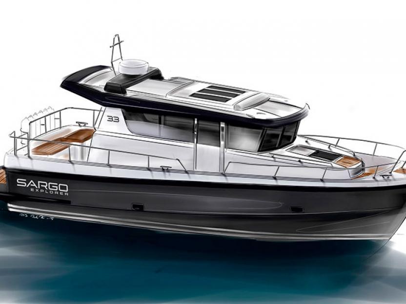 Яхта Sargo 33 Explorer