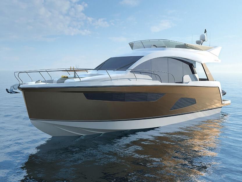 Яхта Sealine F530
