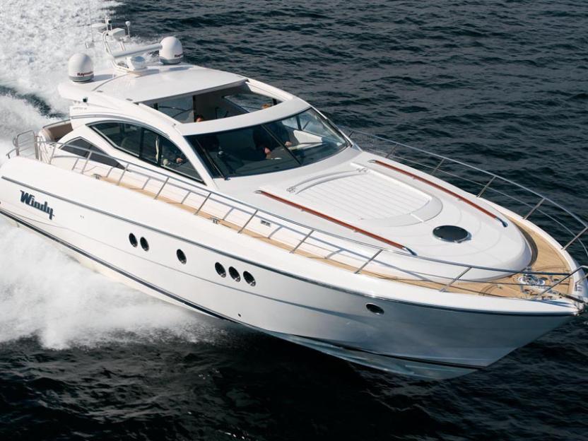 Яхта Windy 52 Xanthos